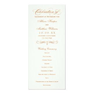 Comité | van het Programma van het huwelijk het 10,2x23,5 Uitnodiging Kaart