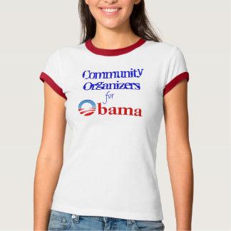 Communautaire Organisatoren voor Obama T Shirt
