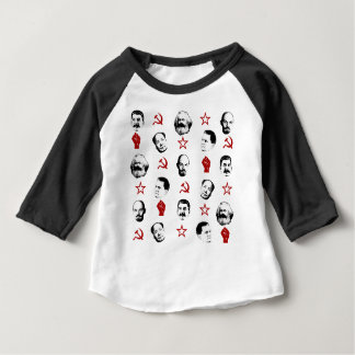 Communistische Leiders Baby T Shirts