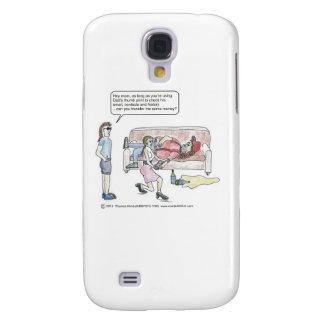 Computer cartoon-Mobiele Thumbprint Galaxy S4 Hoesje
