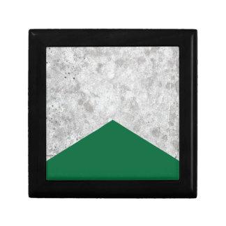 Concrete Pijl Forest Green #326 Decoratiedoosje