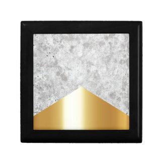 Concrete Pijl Gouden #372 Decoratiedoosje