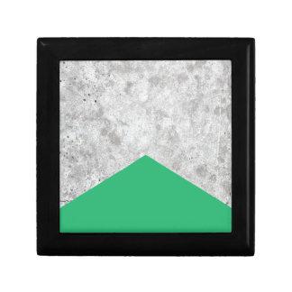 Concrete Pijl Groene #175 Decoratiedoosje