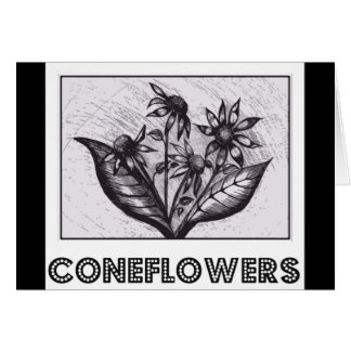 Coneflowers Kaarten