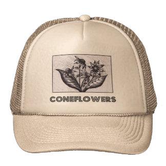 Coneflowers Petten Met Netje