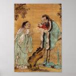 Confucius, Lao Tzu, en Boedha Poster