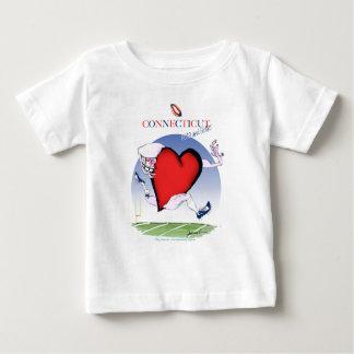 Connecticut hoofdhart, tony fernandes baby t shirts