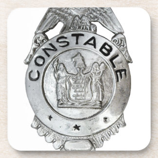 Constable Kenteken Onderzetter