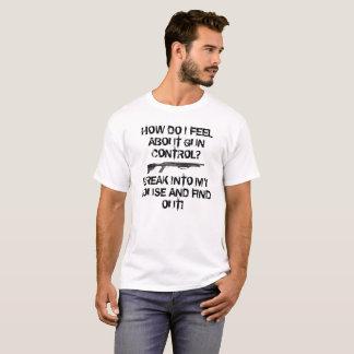 Controle 12 van het pistool Maat T Shirt