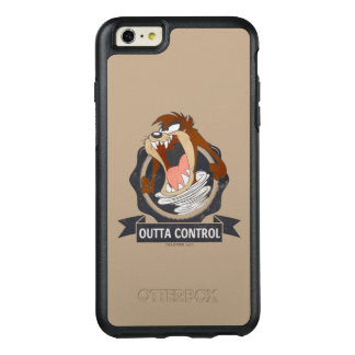 Controle TAZ™ Outta OtterBox iPhone 6/6s Plus Hoesje