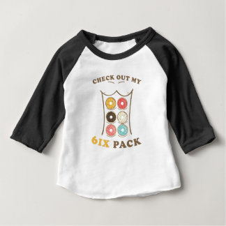 Controle uit Mijn Overhemd van de Doughnut van Zes Baby T Shirts