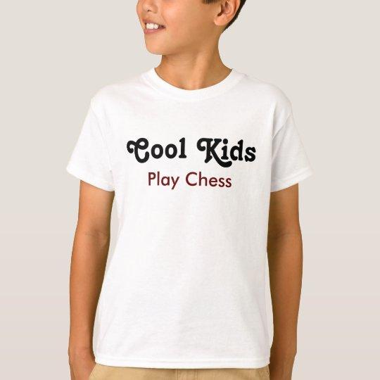 Cool Kids Play Chess T Shirt