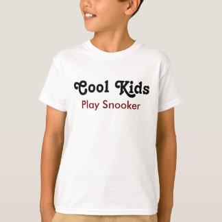 Cool Kids Play Snooker T Shirt