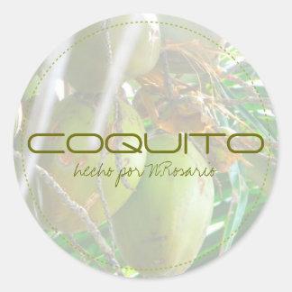 Coquito Ronde Sticker
