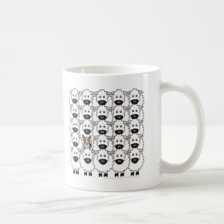 Corgi bij de Schapen Koffiemok