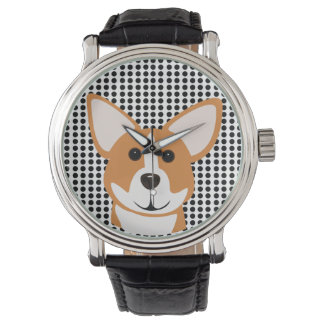 Corgi Horloge