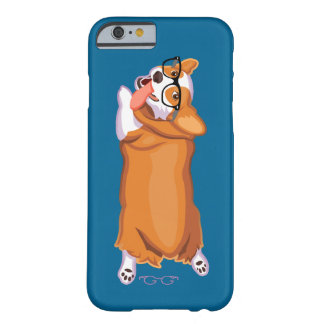 Corgi Sploot Barely There iPhone 6 Hoesje