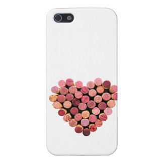 Cork van de wijn iPhone 5 van het Hart Hoesje iPhone 5 Case