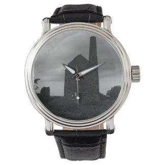 Cornwall de Foto PoldarkCountry van de Mijn van Horloges