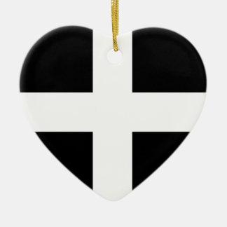 Cornwall flag..jpg keramisch hart ornament