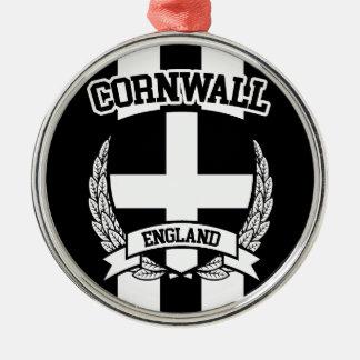 Cornwall Zilverkleurig Rond Ornament