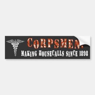 Corpsman 1 bumpersticker