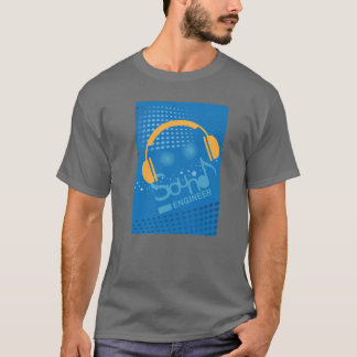 Correcte de ingenieursradio van DJ of de T-shirt