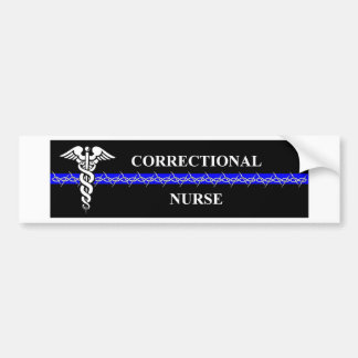Correctionele Verpleegster Bumpersticker