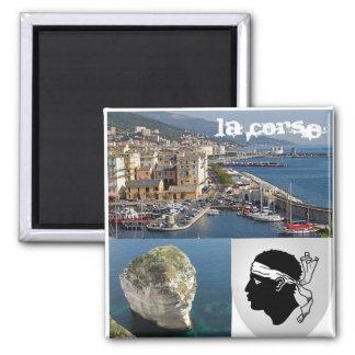 Corsica Vierkante Magneet