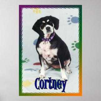 Cortney Mijn Hond Poster