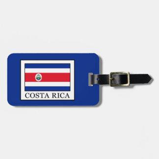Costa Rica Bagagelabel