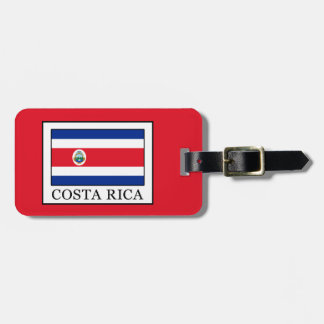 Costa Rica Kofferlabels