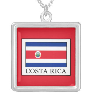 Costa Rica Zilver Vergulden Ketting