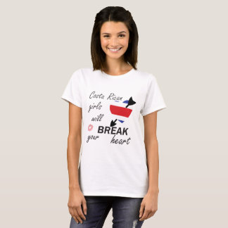 Costa Ricaanse Heartbreaker T Shirt