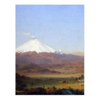 Cotopaxi, Ecuador door Frederick Edwin Kerk Briefkaart