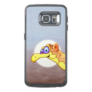 COUCOU VOGEL 2 de VREEMDE RAND SS van de Melkweg OtterBox Samsung Galaxy S6 Edge Hoesje