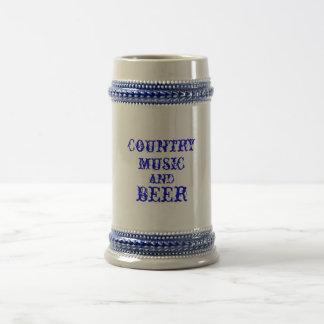 country muziek en bier bierpul