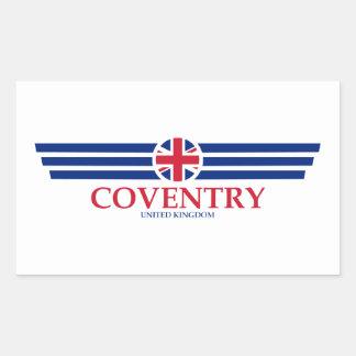 Coventry Rechthoekige Sticker