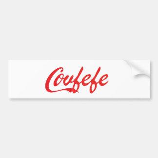 """Covfefe"" bumpersticker"
