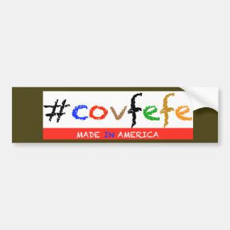 #covfefe de Sticker van de Bumper