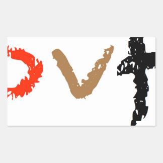 #covfefe Gemaakt in Amerika Rechthoekige Sticker