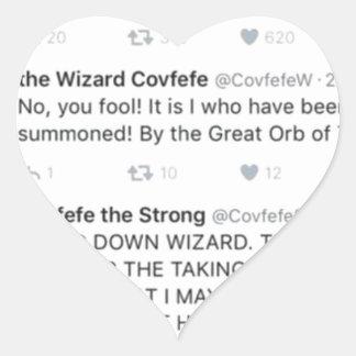 Covfefe Hart Sticker
