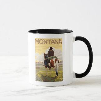 Cowboy & het Poster van de Reis Mok