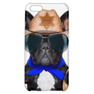 cowboy pug - hondcowboy iPhone 5C cases