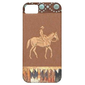 """Cowboy"" Westerne IPhone 5 Hoesje"