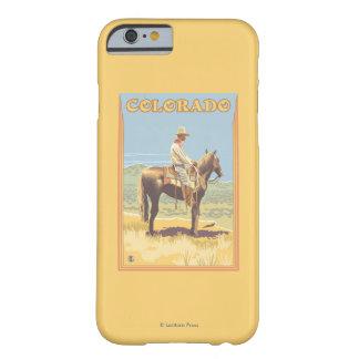 Cowboy (Zijaanzicht) Colorado Barely There iPhone 6 Hoesje