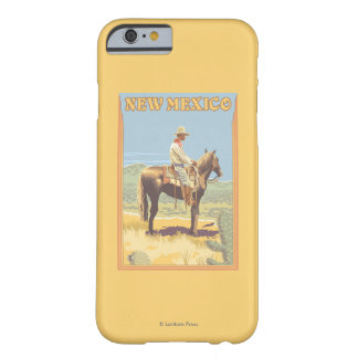 Cowboy (Zijaanzicht) New Mexico Barely There iPhone 6 Hoesje