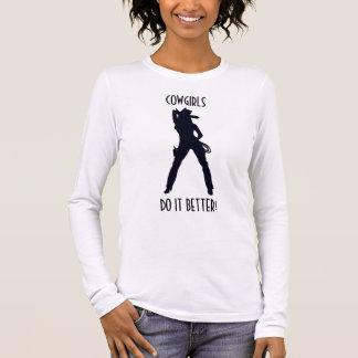 Cowgirls Do It Better T Shirts