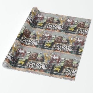 Coza van Mah, Graffiti, het Glanzende Verpakkende Inpakpapier