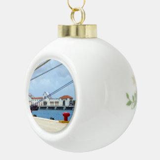 Cozumel Haven Keramische Bal Ornament
